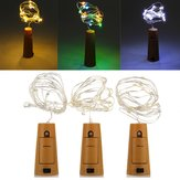 Battery Powered 20 LEDs Cork Shaped LED Night Starry Light Wine Bottle Lamp for Xmas Party