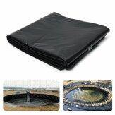Película de cultivo de membrana de revestimiento de estanque de 5x10 pies Piscina para tratamiento de aguas residuales de geomembrana compuesta geomembrana anti-filtración