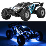 S658 1/32 2.4G 4CH Mini RC Car Dual Motor Off Road Vehicles Kids Child Toys with LED Light Model