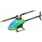 OMPHOBBY M2 EXP 6CH 3D Flybarless Dual Brushless Motor Direct Drive RC Helicopter PNP met Open Flight Controller