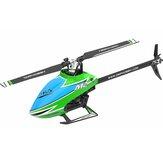OMPHOBBY M2 EXP 6CH 3D Flybarless Dual Motor Sin escobillas Direct Drive RC Helicóptero PNP con controlador de vuelo abierto