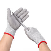 1 Pair Anti-cut Work Gloves Safety Cut Resistant Level 5 Hand Protection