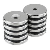10Pcs Neodymium Disc Magnets N35 Strong Round Magnetic 5mmx30mm Dia With