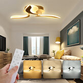 330LED Modern Leaves Chandeliers Acrylic Ceiling Lights Fixtures Living Bedroom