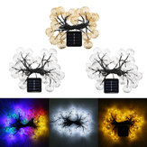 Solar Power 4.5m 20LED Waterproof Fairy Holiday Light String Garden Wedding Party Christmas Decor