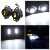 64W Angel Eyes Far Xenon LED Halo için BMW E90 E91 06-08 Beyaz Lamba