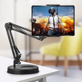 HM25-2 Universal pliable 360 degrés Rotation Clip Desktop Phone Tablet Live Streaming Holder Stand pour iPhone Xiaomi entre 3,5 pouces et 10,6 pouces Non original