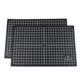 200 * 300mm Koordinat Isıtmalı Yatak Etiket Baskı Bant ile RepRap için Siyah Tutkal / MK2A / Prusa i3 3D Yazıcı