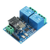 5V ESP8266 Dual WiFi Relay-module Internet Of Things Smart Home Mobiele APP Remote Switch
