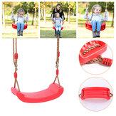 Outdoor Indoor Child Swing Children Adjustable Rope Soft Swing Garden Backyard Hammock Chair Max Load 200kg