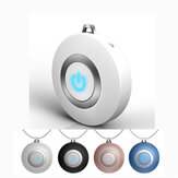 Wearable Air Purifier Necklace Ionizer Ion Generator Odor and Smoke Remover