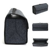 Collapsible Car Mounted Travel Storage Box Back Storage Bag Gripesack