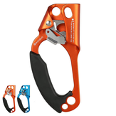 XINDA Arborist Rock Climbing Mountaineer Left Hand Grasp Ascender Device Riser For 8-12mm Rope