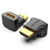 Vention HDMI Male to HDMI Female Adapter Converter 270 ° Прямой угол HDMI 2.0 4K 1080P Удлинитель HDMI Коннектор