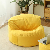Bean Bag Cover without Filler Lounger Seat Protector Lazy Sofa Slipcover Home Office Furniture Accessories Decorations