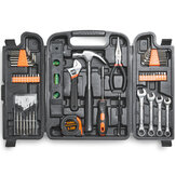 VonHaus 53pc Household Tools Set Tools Kit Hardwearing Steel Feature Soft-grip Moulded Handles Tools Kit