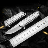 13CM D2 Steel Folding Knife 60HRC Hard Mini EDC Outdoor Survival Tools Pocket Knife for Camping Travel Hunting
