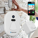 Wireless WIFI Smart Türklingel Tür Kamera Ring HD Foto Home Indoor Outdoor