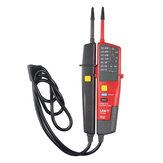 UNI-T® UT18C 0 ~ 690V AC egyenfeszültség-tesztelők LCD-kijelző automatikus tartománya IP65 vízálló mérő nincs áramteszt funkció