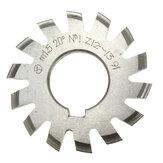 Módulo 1.5 PA20 Diâmetro 22mm # 1-8 HSS Involute Gear Milling Cutter