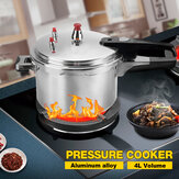 MECO 4L Aluminum Silver Pressure Cooker Fast Cooker Cookware For Kitchen