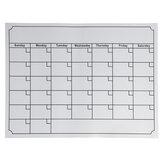Buzdolabı için Beyaz Tahta Manyetik Aylık Haftalık Planlayıcısı Takvim Programı