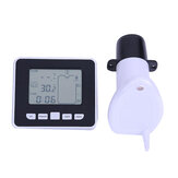 TS-FT002 Ultrasonic Level Flow Meter 0 ~15M Depth Level Meter And -40~60℃ Measure Range Level Gauge Thermometer