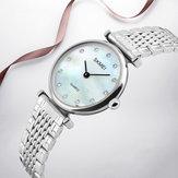 SKMEI 1223 Rhinestones Waterproof Ladies Wrist Watch