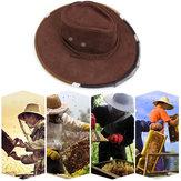 Anti Bee Cap Cowboy Hat Beekeeping Protective Hat Beekeeper Tool Anti Insect Net
