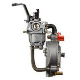 GX160 168Fウォーターポンプ発電機用二重燃料キャブレター