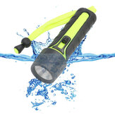 110LM 3W LED Mergulho Lanterna Waterproof Underwater Torch Light Ciclismo Pesca