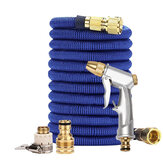 Blue garden water pipe car wash tool full copper connector washing tool