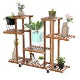 4 Tiers Plant Stand Plant Bloempot Display Stand Bestand Opslag Plank Rek Boekenplank Thuis Kantoormeubilair