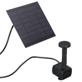 180L/H 1.2W 7V Solar Water Panel Power Fountain Pump Garden Pond Watering Submersible Water Pump