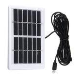 6V 12W USB شحن لوحة شمسية القوة متعددة الوظائف LED مصباح البعوض القاتل لوحة للطاقة الشمسية