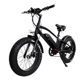 Original              [EU DIRECT] CMACEWHEEL T20 Moped Electric Bicycle Double Battery 10Ah 750W 20*4in Fat Tire Electric Bike Max Speed 45km/h Mileage 120km E-Bike