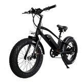 [AB DOĞRUDAN] CMACEWHEEL T20 Moped Elektrikli Bisiklet Çift Batarya 10Ah 750W 20 * 4in Fat Tire Elektrikli Bisiklet Maksimum Hız 45km / s Kilometre 120km E-Bike