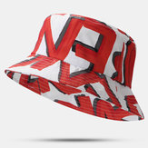 Unisex Red Painted Embroidery Design Breathable Hat