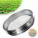 Heavy Duty Garden Riddle Sieve Mesh Soil Sift Compost Seed Tray Gardening Tool