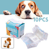 10Pcs Disposable Baby Pet Diapers Ultra Protection Breathable Sanitary Nappy Pants