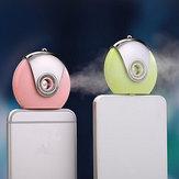 Mobiele Telefoon Mini Luchtbevochtiger Draagbare Diffuser Moisturizing Aroma Spray Voor Android Telefoons Huidverzorging