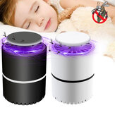 Electric Mosquito Killer Lamp LED Insect Repellent Killer Trap USB Rechargeable Camping Travel Home
