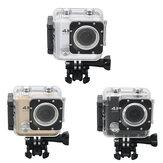 M21 Allwinner V3 4K 16MP HDリモートコントロール付き170度広角WIFIスポーツアクションビデオカメラ