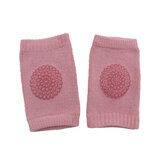 80% Cotton Summer Children's Dotted Knee Pads Non-Slip Breathable Crawling Toddler Knee Socks Protective Gear