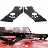 1 Pair 20inch LED Light Bar Hood Mounting Brackets Fit for 07-16 Jeep Wrangler