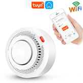 Earykong Smoke Alarm Fire Protection Wireless WiFi Smoke Detector Fire Alarm Work With Tuya APP For Home Security System