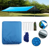 Outdoor Camping Waterproof Tarp Sunshade Awning Canopy Beach Tent Cover Sun Shelter