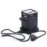 220ボルト黒シーシャ炭ストーブ加熱ホットプレート石炭バーナーパイプアクセサリー二穴euプラグ