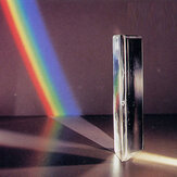 2 इंच मिनी ऑप्टिकल ग्लास ट्रिपल त्रिकोणीय प्रिज्म भौतिकी रेफ्रेक्टर लाइट स्पेक्ट्रम