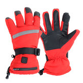 Electric Heated Glove Warm Nylon Taslon Double Side Heating Waterproof Gloves Rechargeable Battery Powered Gloves